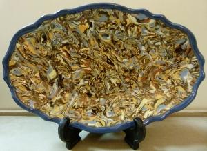 ceramique bleu vaucluse